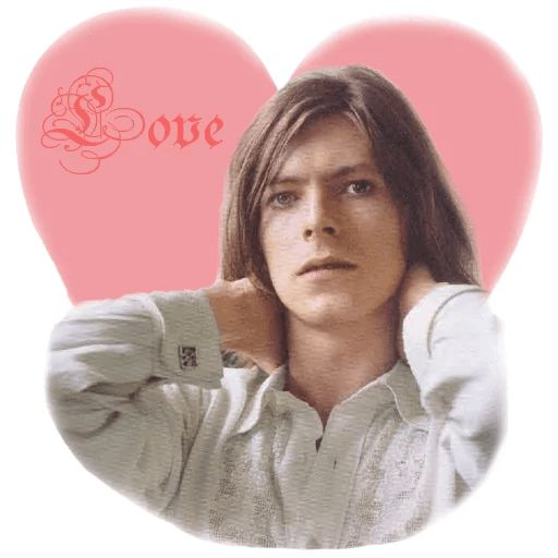 "Sticker ""David Bowie-1"""