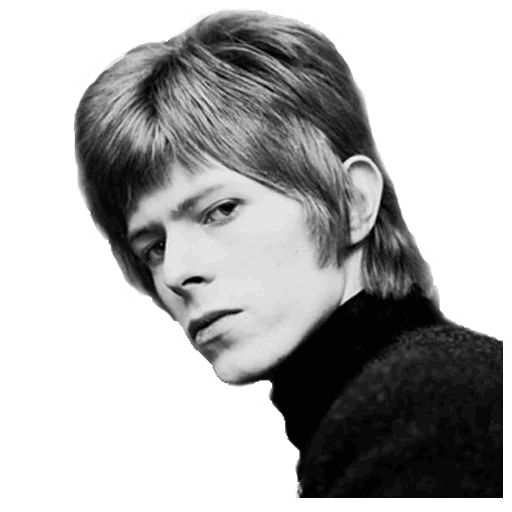 "Sticker ""David Bowie-11"""