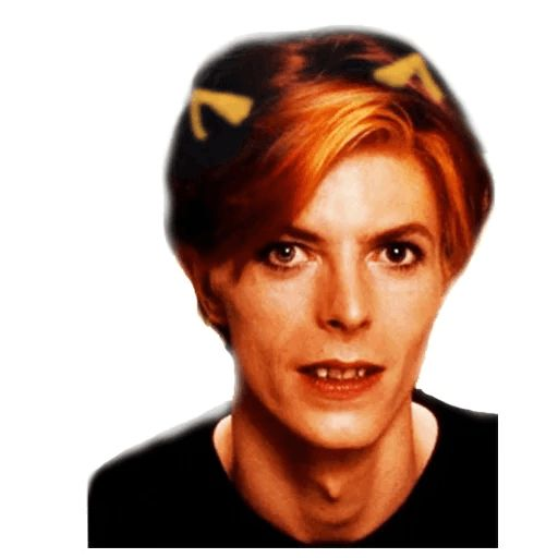 "Sticker ""David Bowie-2"""