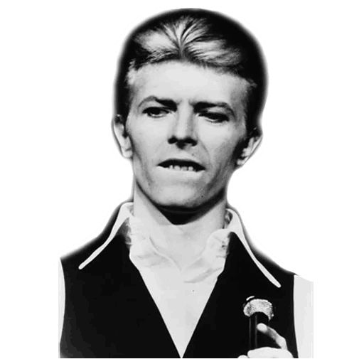 "Sticker ""David Bowie-3"""