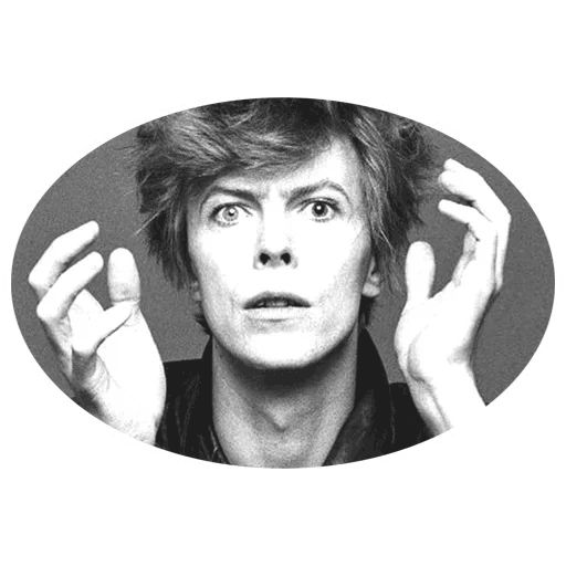 "Sticker ""David Bowie-7"""