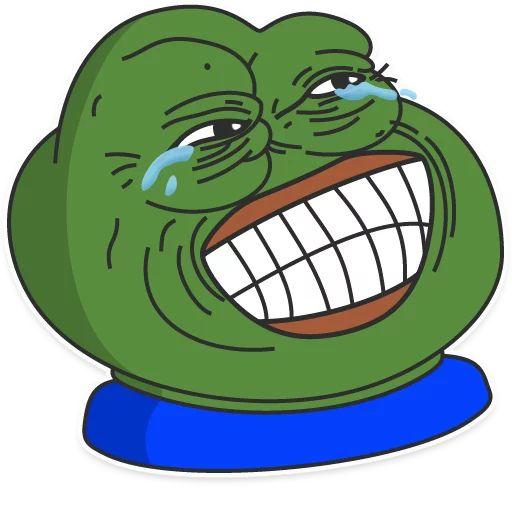 "Pepe"" stickers set for Telegram"